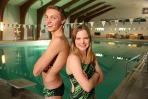 Two Flagstaff High School swimmers earn athlete of the year honors