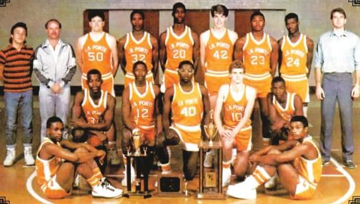La porte honors 1987 state champions sports for La porte isd