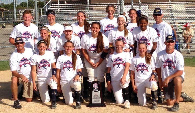 Golden Girls Texas Impact Gold 14u Softball Wins National
