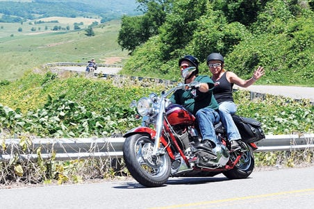 Riding the Back of the Dragon: Motorcycles rumble through ...