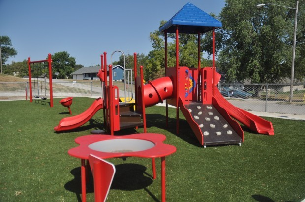 Freeman Completes New Preschool Playground Local News