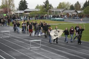 BHS student protest 2
