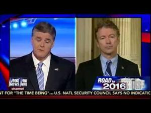 Sen. Rand Paul Joins Sean Hannity on Fox News- March 24, 2015