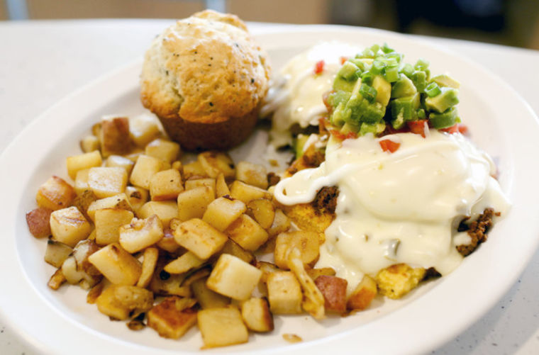 Kalamity Katies' Border Benedict is one of Wild Eggs' most popular ...