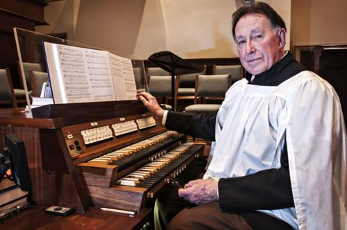 Organist Tom Moody celebrates 50 years of worship