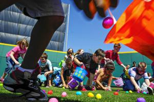 Easter egg hunts start in the region