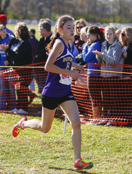 Peeples, Lady Purples take second place at state meet