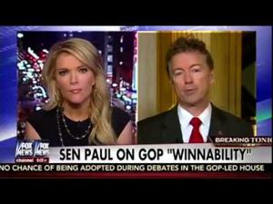 Sen. Paul Joins Megyn Kelly on Fox News- March 23, 2016
