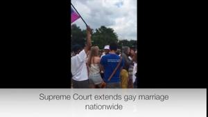 VIDEO: Supreme Court extends same-sex marriage nationwide