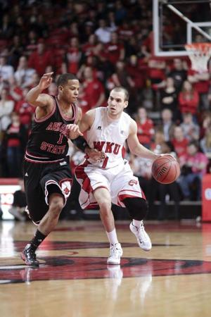 Toppers fall to Arkansas State, 67-49