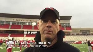 VIDEO: WKU working to improve backup QB position