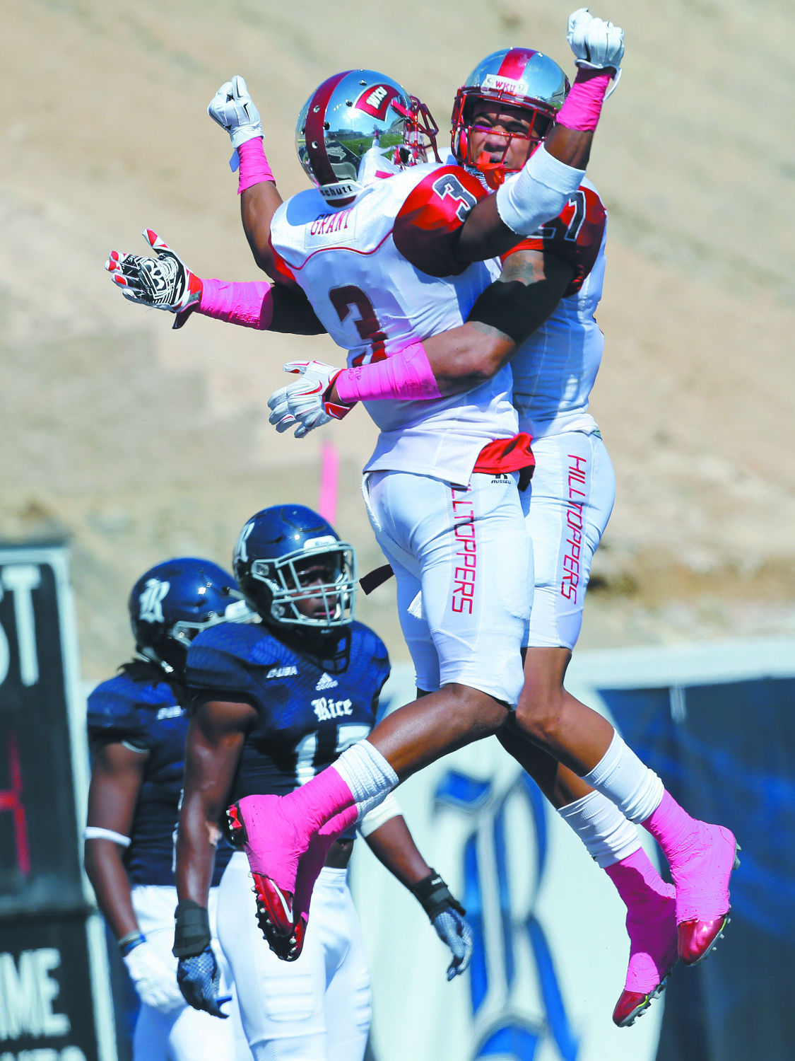 Flying high: WKU turns road test at Rice into sound 49-10 win