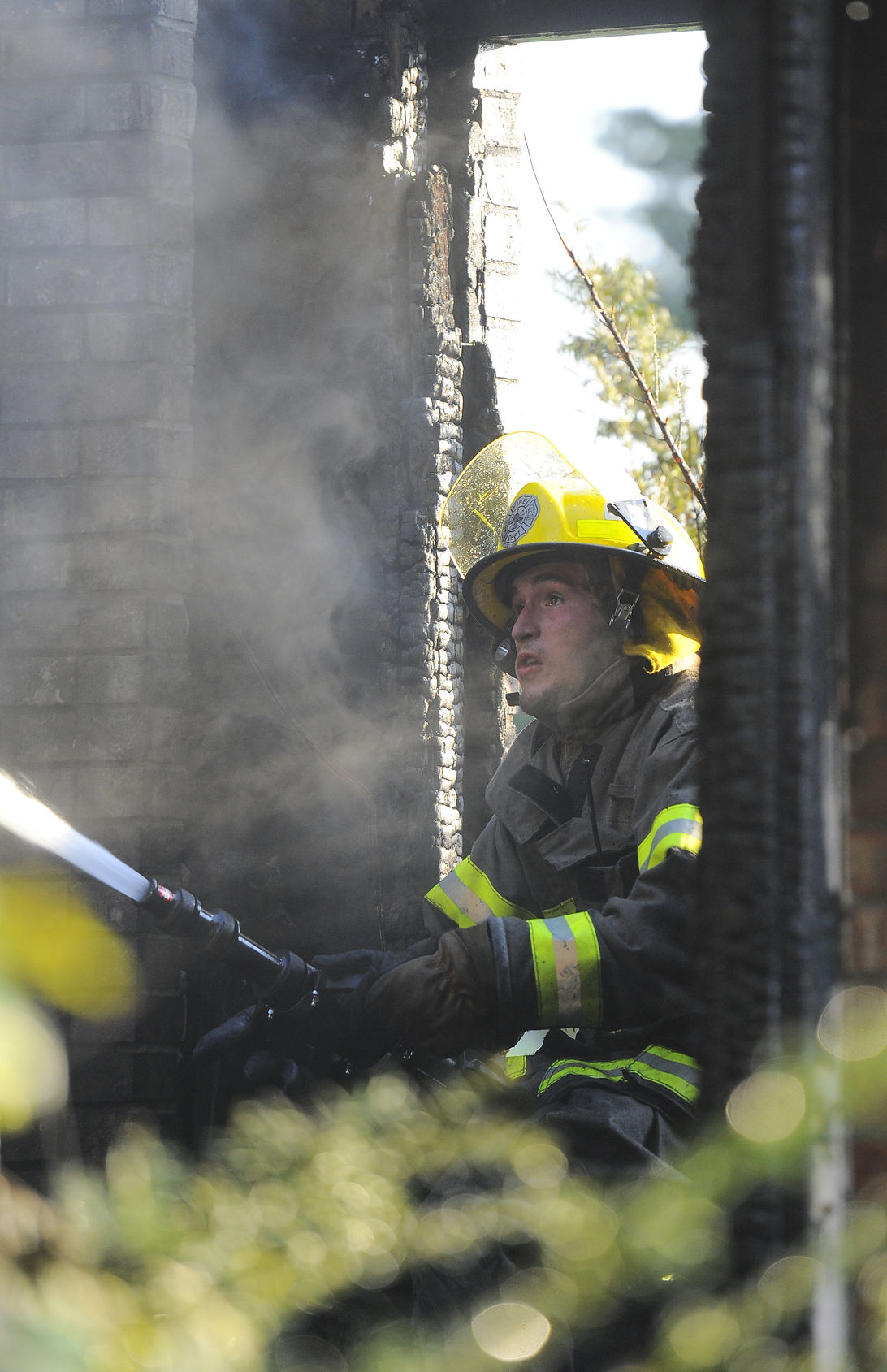 One firefighter hurt battling house fire on bristow road news