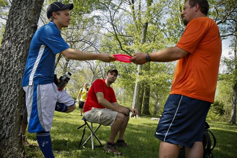 Amateur disc golf championships. Alex Slitz/Daily News