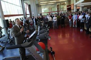 WKU officials dedicate newly renovated Preston Center
