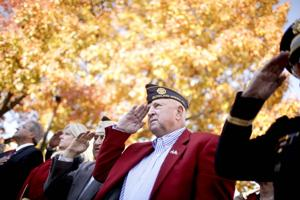 Veterans honored with parade and ceremony