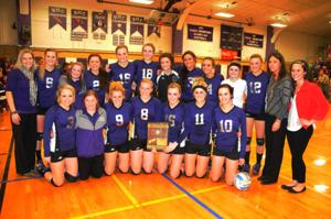 Lady Broncs No. 1 seed at State A Volleyball Tournament