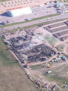 Full throttle saloon fire not yet known black hills pioneer local