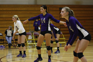 Broncs volleyballers remain undefeated