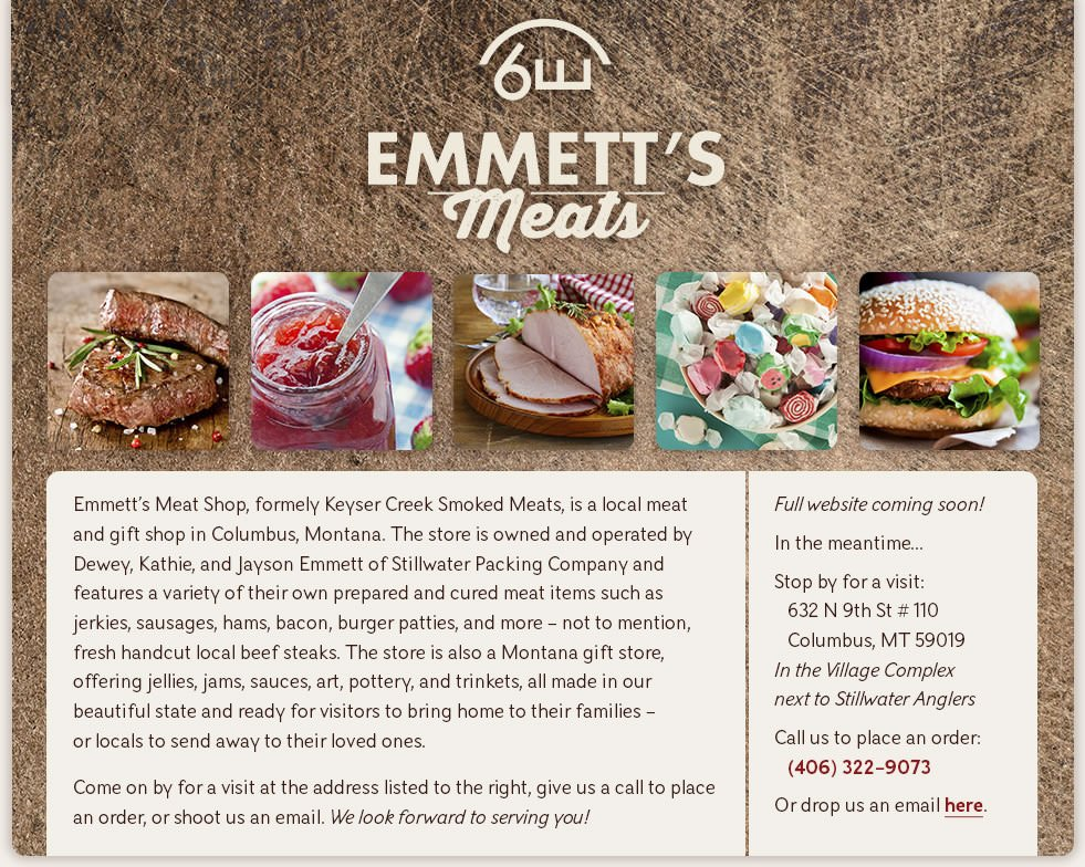 Stillwater Packing Company Emmett's Meats