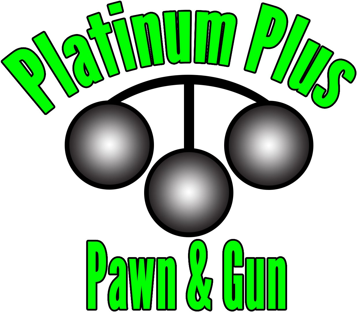 Platinum Plus Pawn and Gun