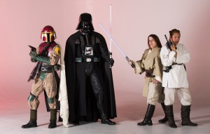 'Star Wars' aficionados put heart and soul into costumed creations