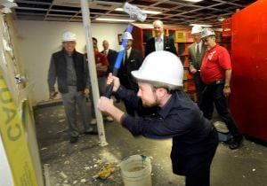 YMCA announces $2.5 million capital campaign, kicks off locker room renovation