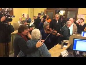 Same-sex marriage at the Missoula County Courthouse