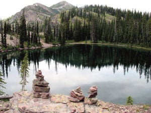 Pyramid Lake: A good first taste of Bob Marshall Wilderness