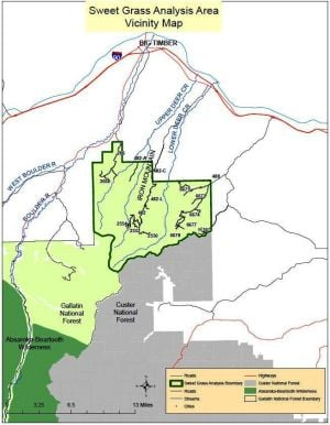 Forest seeks comment on Sweet Grass rehab project