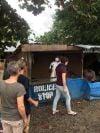 Ebola checkpoint