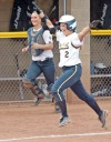 Jackets use their power for softball sweep