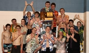 Central boys swimmers capture historic state title