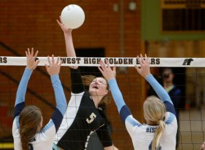 Tough challenges loom, but West volleyball pleased with 3-0 league start