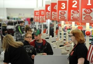 Shoppers get up early to get deals at Billings stores