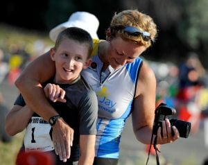 71 complete triathlon at State Games