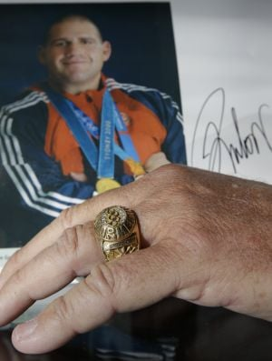 Mementos of Olympic hero Rulon Gardner up for auction