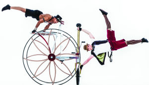 Cirque Mechanics' Pedal Punk