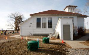 New cistern brings water back to Pioneer School