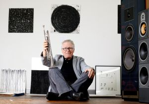 Billings artist with printing, jazz background creates experimental art