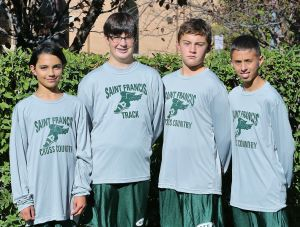St. Francis Upper eighth-grade boys cross country