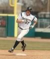 Kevin Zukaitis of Montana State Billings hits a two-run homer