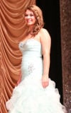 Katelyn Becker competes in the evening gown competition