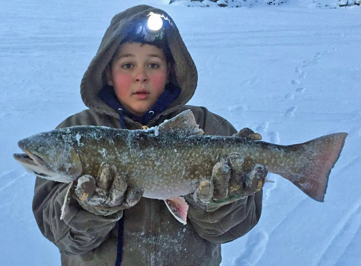 Henry 39 S Lake Producing Fat Brook Trout For Ice Anglers