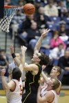 Danny Robison of Billings West scores