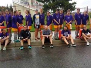 Carroll women's soccer coaches ice bucket challenge