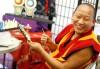 Lama Penjo Bhutia smiles