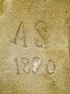 Sandstone initials