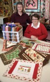 Quilters make Christmas brighter for Meals on Wheels clients