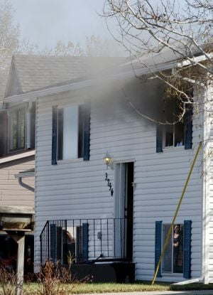 Fire breaks out in home on Gymnast Way
